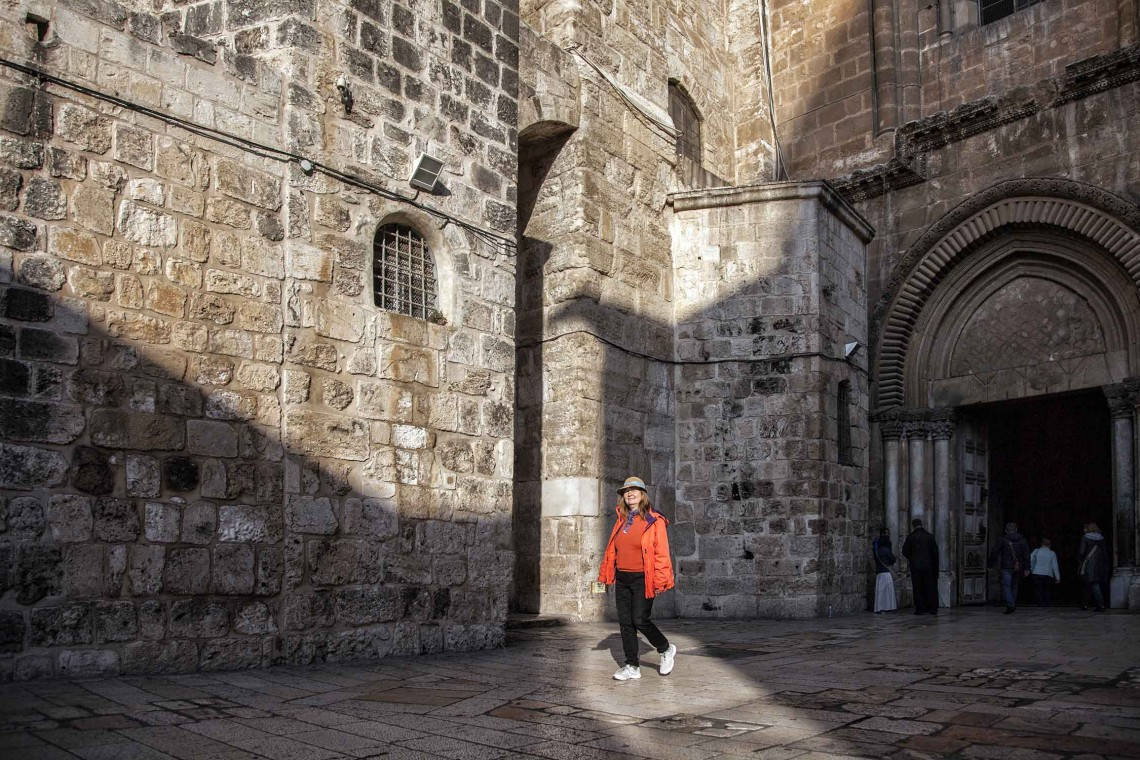 08.11 - Meltem İnanç - CHURCH OF THE HOLY SEPULCHRE