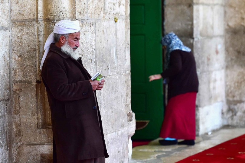 13.41 - Can Emre - ENTRANCE OF AL AQSA MOSQUE